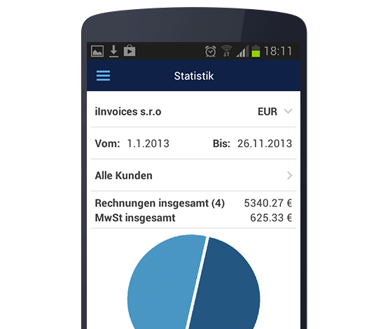 Billdu Android invoice management app