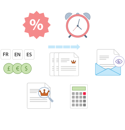 Features of our invoice apps for android and ios and online invoice maker