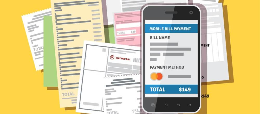 Bill scanner and organizer app