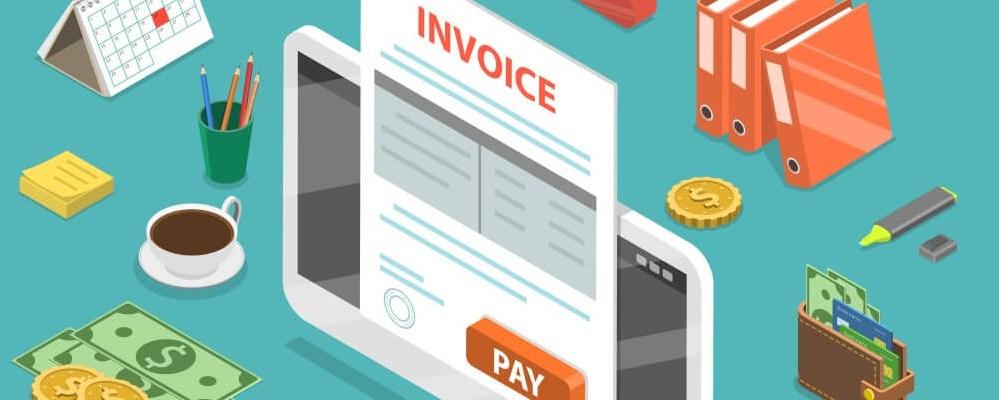 Create invoices using Invoice management app