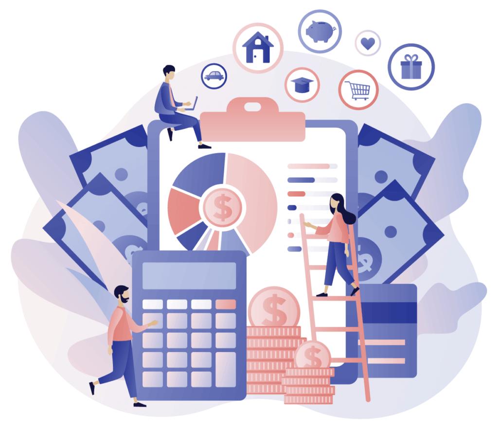 Financial reporting and cashflow balance