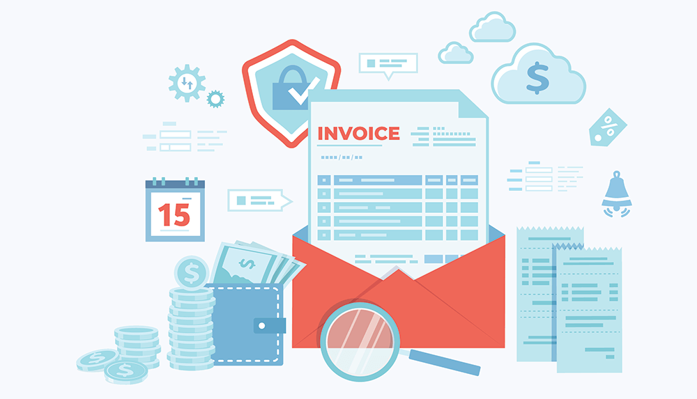 Automated invoicing software