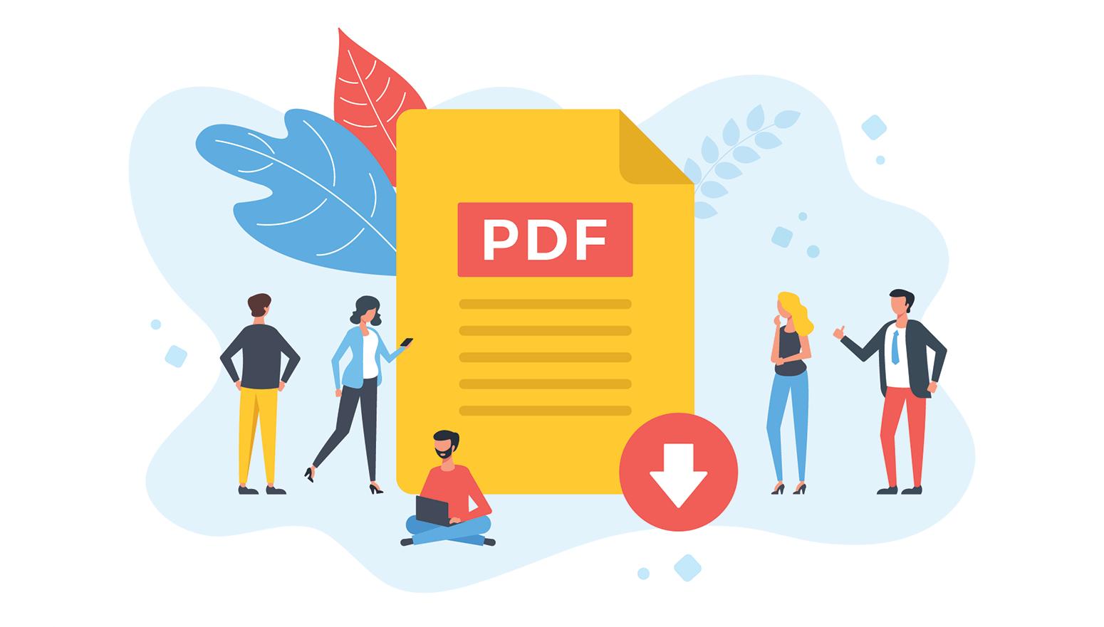 Free downloadable PDF invoice template