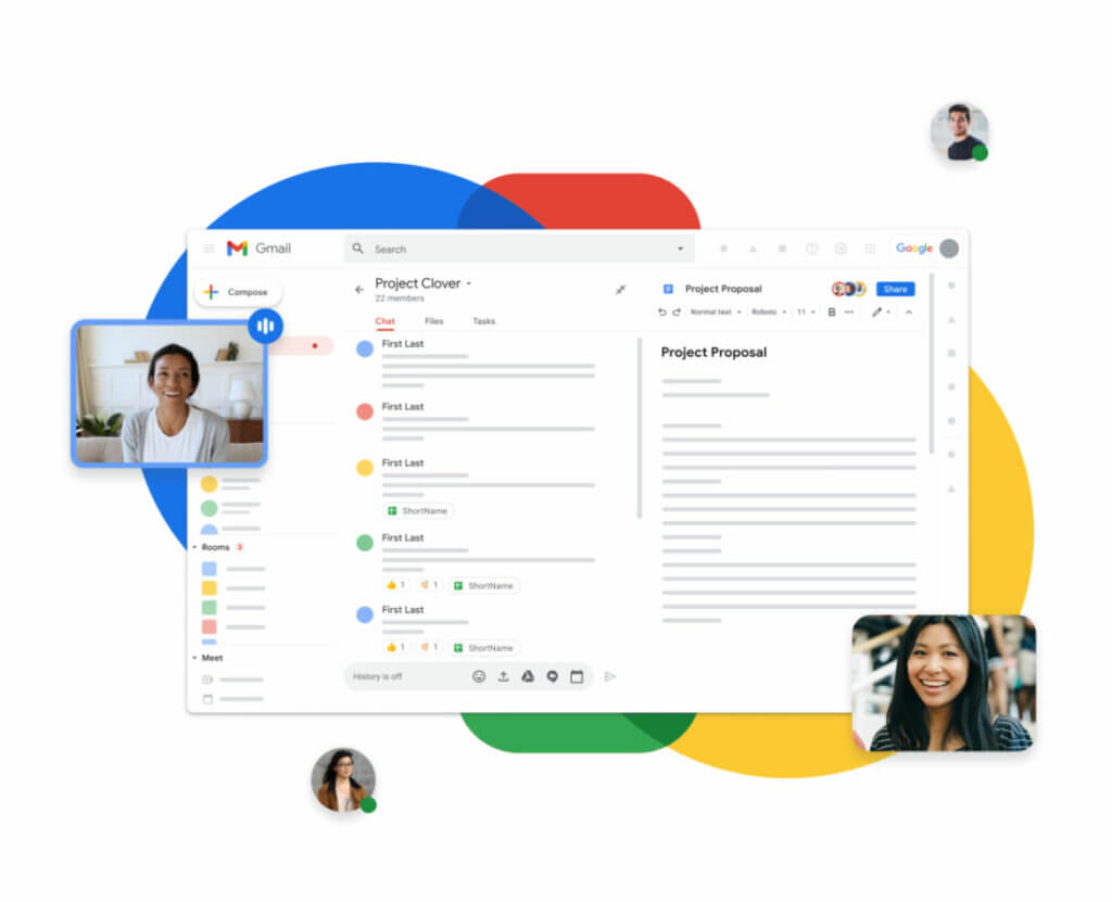 Google Workspace - best small business DNS and collaboration software