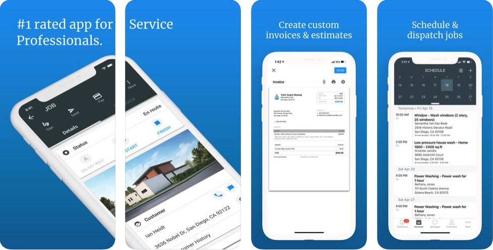 Housecall Pro app for service professionals