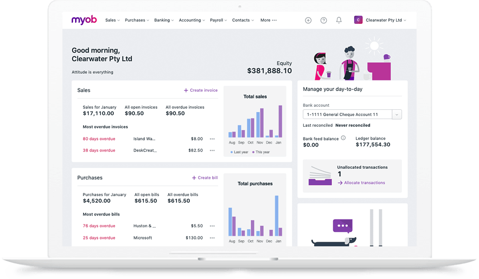 MYOB alternatives - accounting and invoicing for small businesses