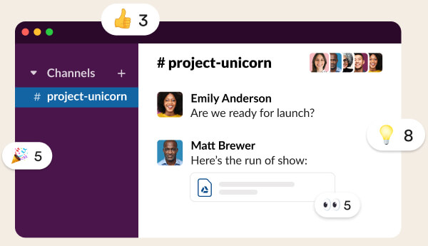 Slack - best team collaboration software for small businesses
