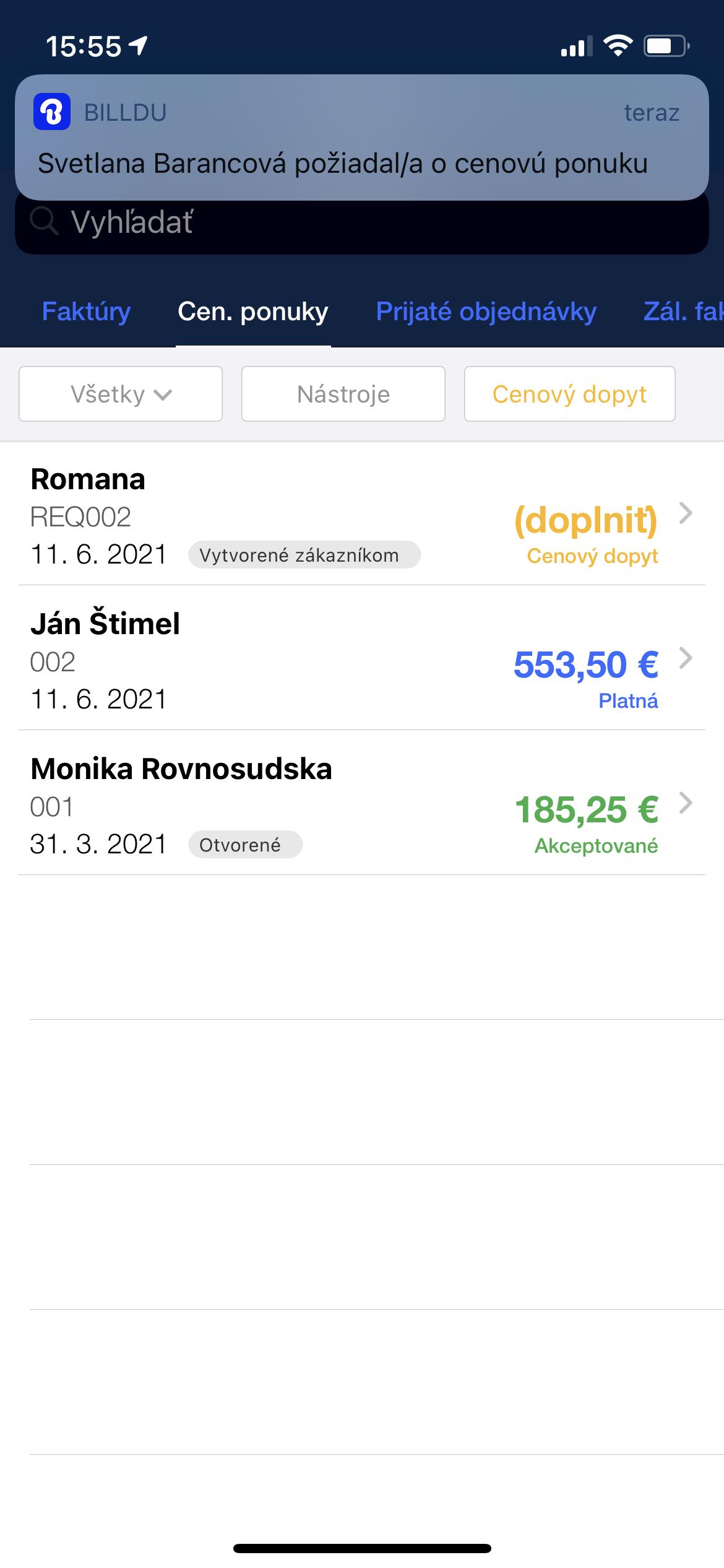 Cenovy dopyt