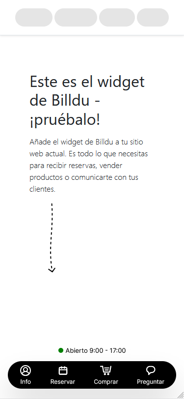 facturas app presupuestos barber widget mobile