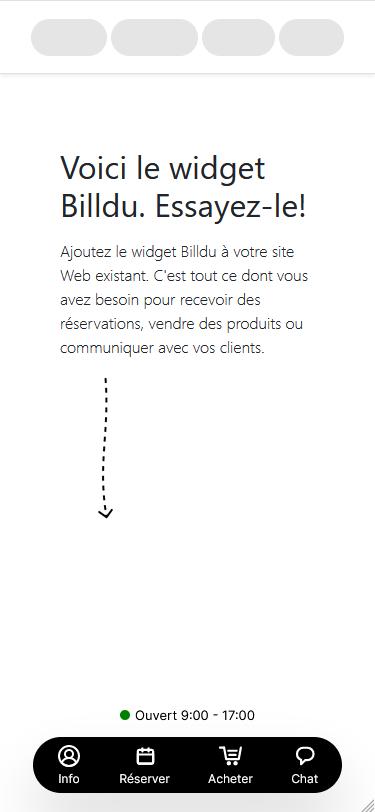 invoice devis frais gratuit widget mobile